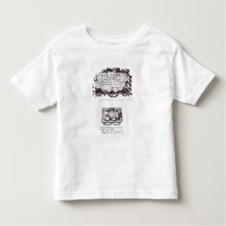 Entrance ticket for the ball in Versailles Toddler T-Shirt