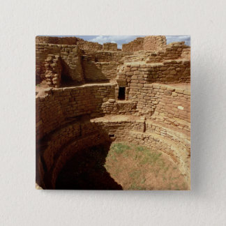 Entrance to a Kiva, built c.11th-14th centuries 15 Cm Square Badge