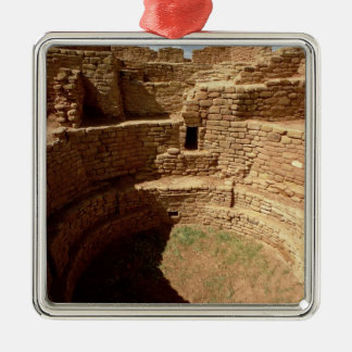 Entrance to a Kiva, built c.11th-14th centuries Christmas Ornament