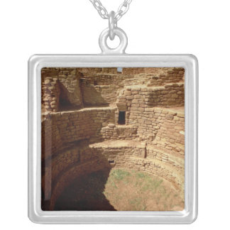 Entrance to a Kiva, built c.11th-14th centuries Silver Plated Necklace