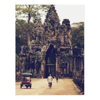 Entrance to Angkor Wat Postcard