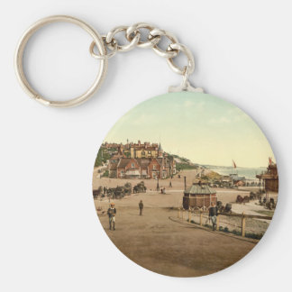 Entrance to Bournemouth Harbour, Dorset, England Key Ring