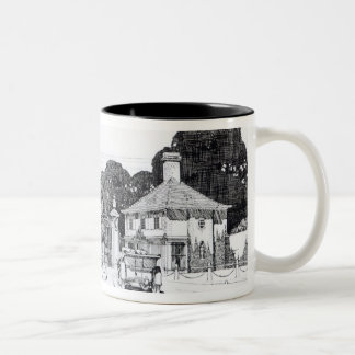 Entrance to Brooklandwood, Baltimore, USA, from Th Two-Tone Coffee Mug
