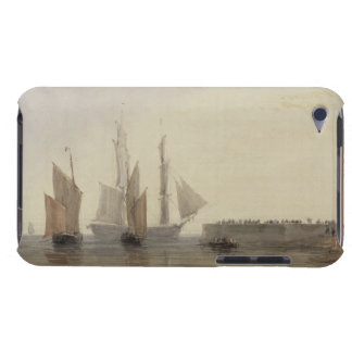 Entrance to Calais Harbour, 1829 (w/c, pen & ink, iPod Touch Cases