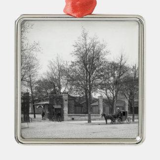 Entrance to 'La Halle aux Vins' Quai Christmas Ornament