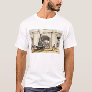 Entrance to Locomotive Engine House, Camden Town, T-Shirt