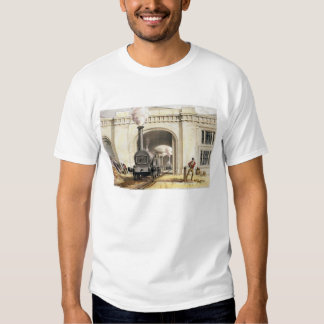 Entrance to Locomotive Engine House, Camden Town, Tee Shirt