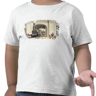 Entrance to Locomotive Engine House Camden Town Tee Shirt