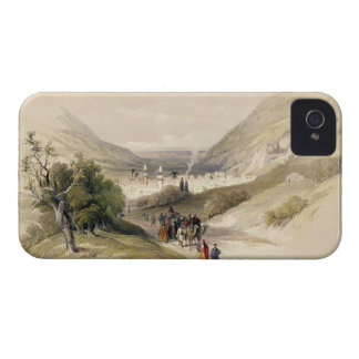 Entrance to Nablous, April 17th 1839, plate 41 fro iPhone 4 Case-Mate Cases
