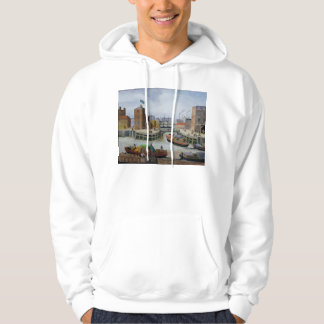 Entrance to Regent's Canal Dock Hoodie