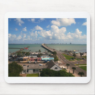 Entrance to South Padre Island Mouse Pad