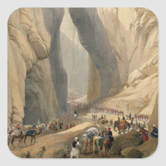 Entrance to the Bolan Pass from Dadur, from 'Sketc Sticker