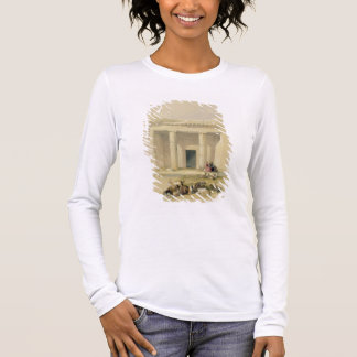 """Entrance to the Caves of Bani Hasan, from """"Egypt a Long Sleeve T-Shirt"""