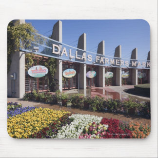 Entrance to the Dallas Farmers Market Mouse Pad