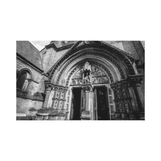 """""""Entrance to the Gothic cathedral"""" wall art"""
