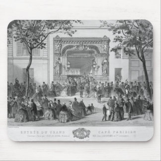 Entrance to the 'Grand Cafe Parisien', Paris Mouse Pad