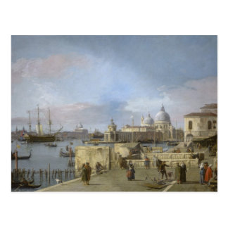 Entrance to the Grand Canal by Canaletto Postcard