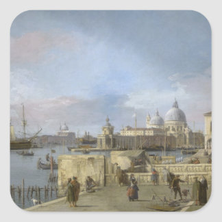 Entrance to the Grand Canal by Canaletto Sticker