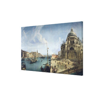 Entrance to the Grand Canal Canvas Print