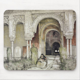 Entrance to the Hall of the Two Sisters (Sala de l Mouse Mat