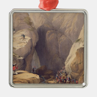 Entrance to the Kojak Pass from Parush, from 'Sket Christmas Ornament
