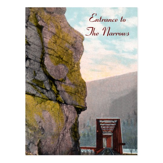 Entrance to The Narrows Postcard