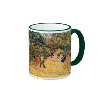 Entrance to the Public Park in Arles by van Gogh Coffee Mug