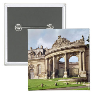Entrance to the stables 15 cm square badge