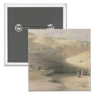 Entrance to the Valley of the Kings Pinback Buttons