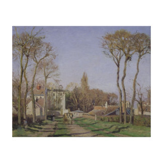 Entrance to the Village of Voisins Canvas Print