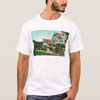 Entrance View of Exterior of Hotel del Monte T-Shirt