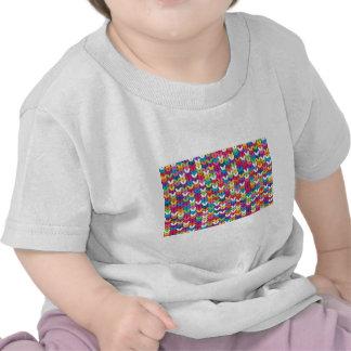 entrelaçado de tecidos tshirt