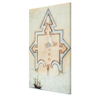 Entrenchments, Puerto Rico Canvas Prints