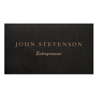 Masculine Business Cards