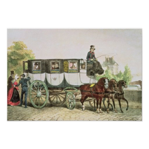 Entreprise Generale des Omnibus', Print