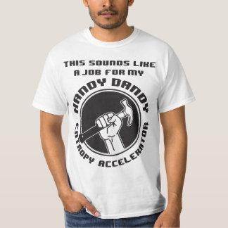 Entropy Accelerator Value Tshirt