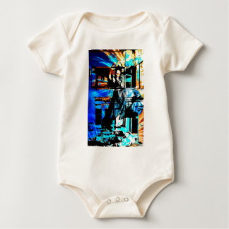 ENTROPY DERVISH 2.jpg Baby Bodysuit