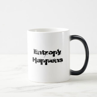 Entropy Happens Morphing Mug