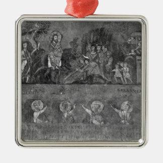 Entry of Jesus into Jerusalem Christmas Ornament