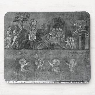 Entry of Jesus into Jerusalem Mouse Pad