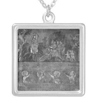 Entry of Jesus into Jerusalem Silver Plated Necklace