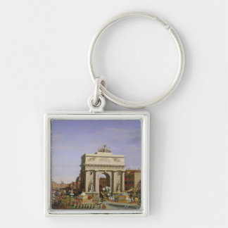 Entry of Napoleon I  into Venice, 1807 Key Ring