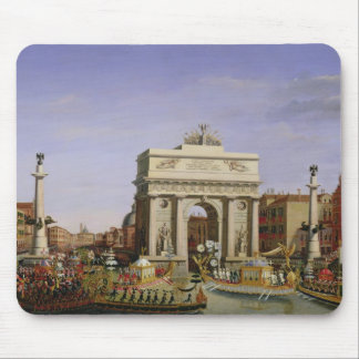 Entry of Napoleon I  into Venice, 1807 Mouse Pad