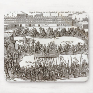 Entry of Prince Charles I into Madrid, 1623 Mouse Pad