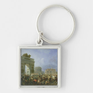 Entry of the Imperial Guard into Paris Key Ring