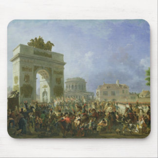 Entry of the Imperial Guard into Paris Mouse Mat