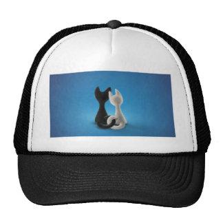 Entwined Kitties Mesh Hat
