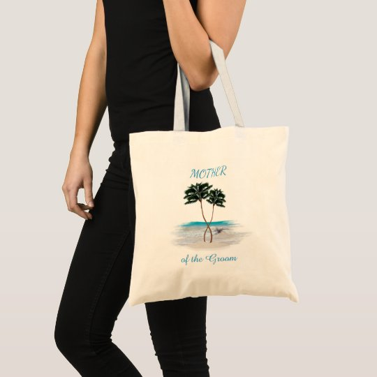 Entwined Palms Beach Mother of the Groom Tote