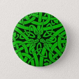 Entwined Snakes 6 Cm Round Badge