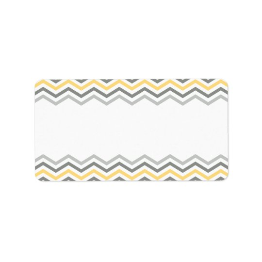 ENVELOPE ADDRESS LABELS :: chevron 1